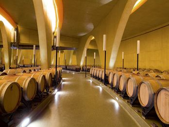 Once pressed, the wine has to be stored and allowed to age undisturbed.